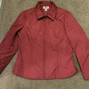 Talbots petites quilted jacket